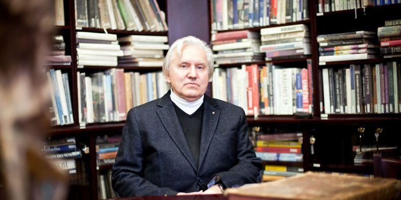 Profesor Jiří Kroupa učí na Filozofické fakultě MU dějiny umění. Foto: Ondřej Surý.