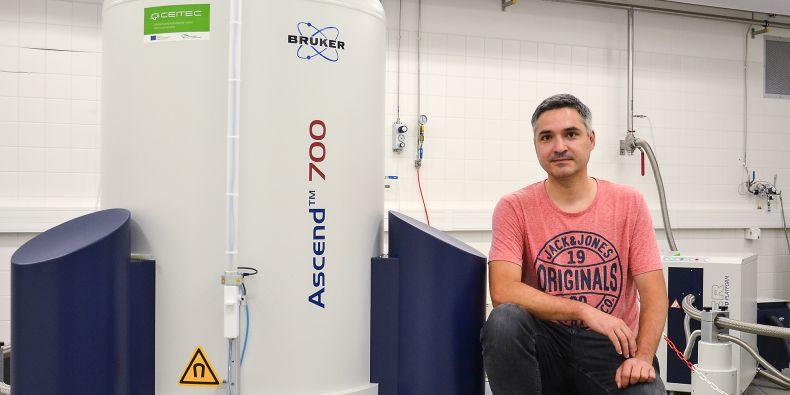 Jozef Hritz z Ceitecu MU vede výzkum 14-3-3 komplexů.
