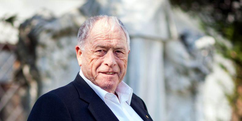 Nobelista Kurt Wüthrich.