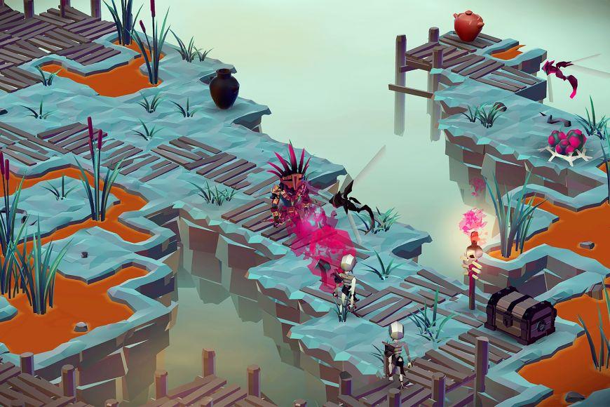 Ukázka ze hry Monolisk od Trickster Arts.
