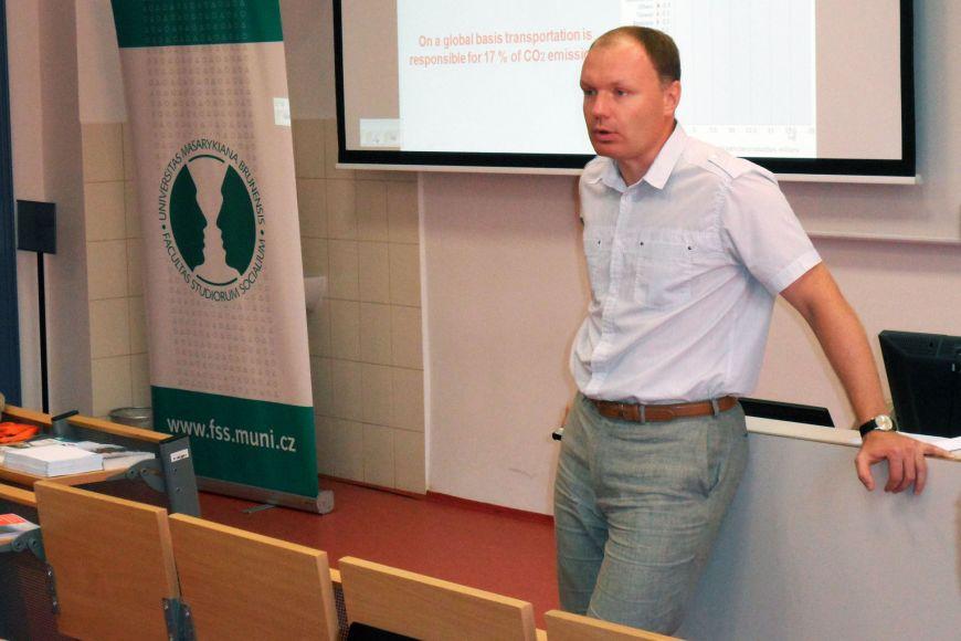 Arunas Molis zNATO Energy Security Center of Excellence vLitevském Vilniusu