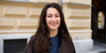 Na volbě České republiky si Oksana Zinchenko pochvaluje kulturní blízkost a kvalitu univerzity. Příchod jí ale příliš neusnadnili úředníci.