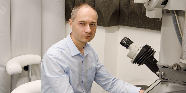 Vedoucí výzkumného týmu Pavel Plevka