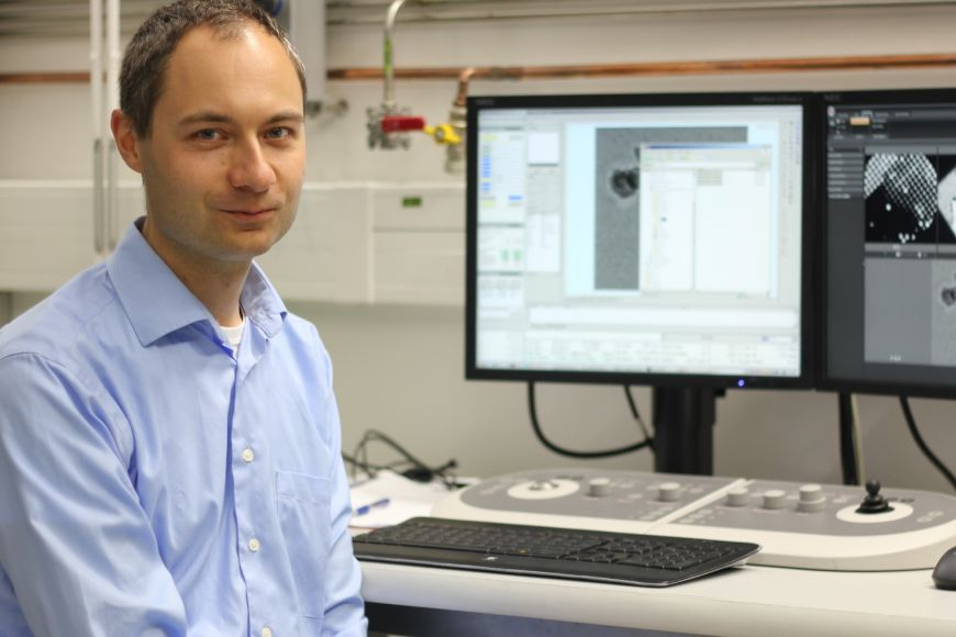 Pavel Plevka, astructural virologist at CEITEC MU.