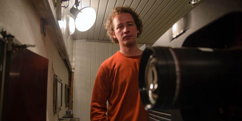 Ředitel Univerzitního kina Scala Radek Pernica.