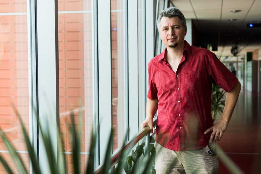 Hydrobiolog Petr Pařil.
