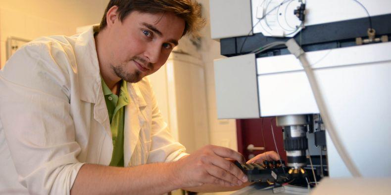 Biochemik Roman Řemínek.