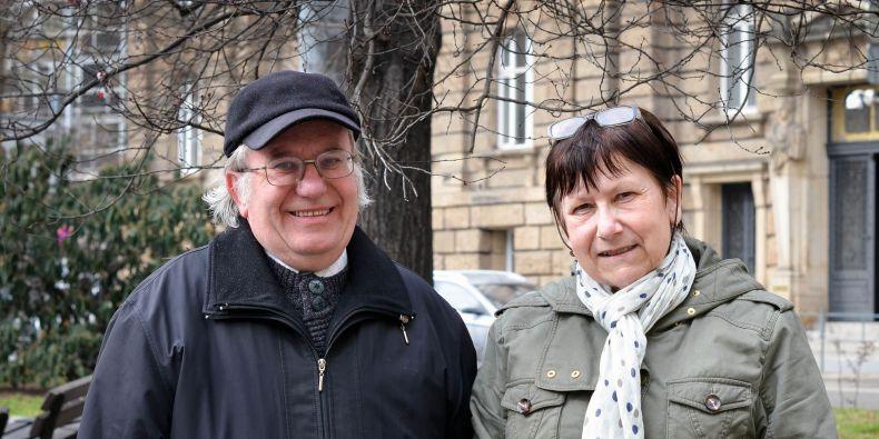 Bohuslav Rittich a Alena Španová.