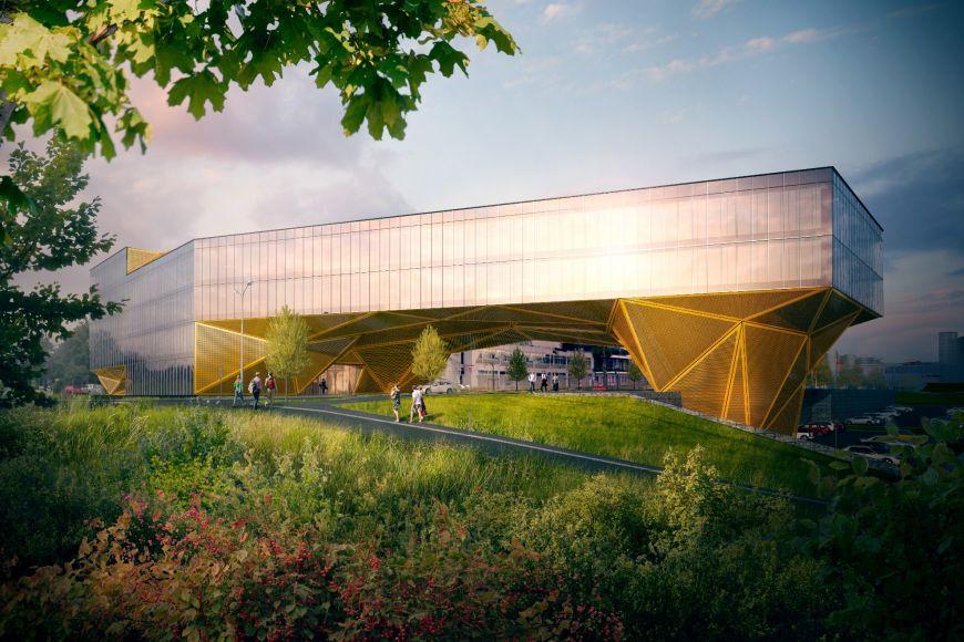 Nová budova bude stát vblízkosti novostavby jihomoravských záchranářů. Celková výměra by měla činit 8000 m².