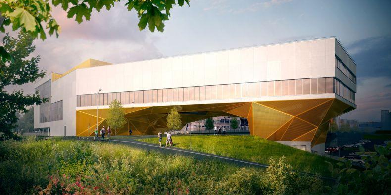 Nízkoenergetická pětipatrová budova bude mimo jiné napodobovat reálné nemocniční prostředí zahrnující urgentní příjem včetně plně vybavené makety sanitního vozu.