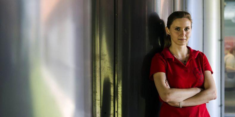 Studentka biochemie Hana Sedláčková.