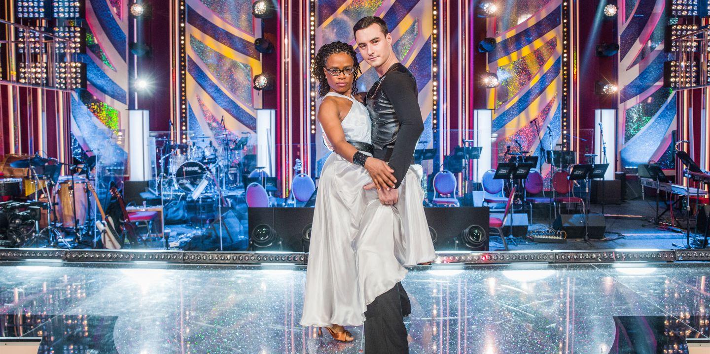 Michal Bureš a jeho taneční partnerka ze StarDance Tonya Graves.