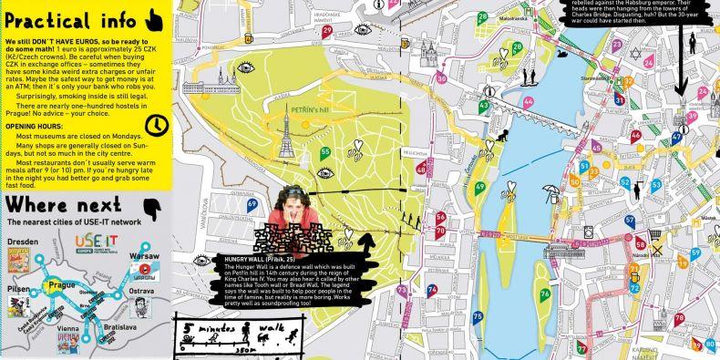 Praha už svoji USE-IT mapu má, brněnská je právě ve vývoji.