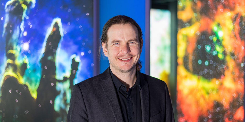 Astrofyzik Norbert Werner.
