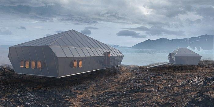 Návrh polární stanice z dílny VUT.