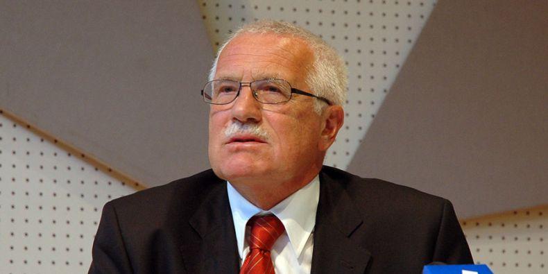 Václav Klaus byl prezidentem České republiky dvě funkční období, od roku 2003 do roku 2013.