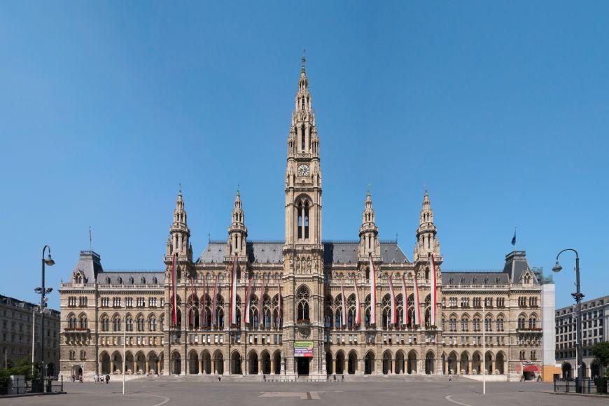 Famous Vienna City Hall.