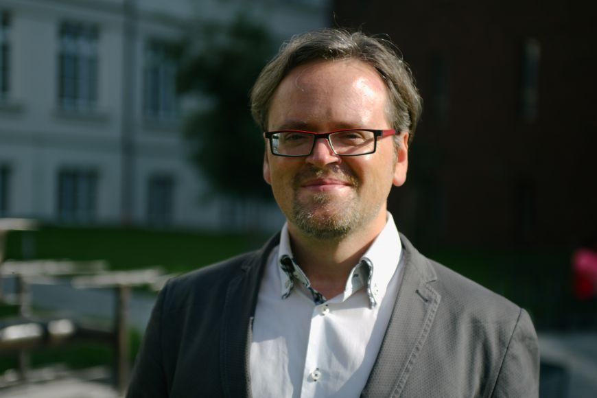 Historian of religion David Zbíral from the Faculty of Arts
