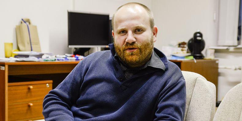 Docent Martin Škop.