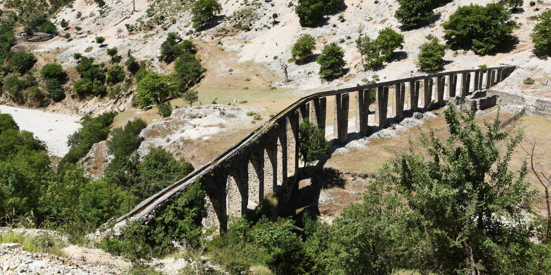 Takzvaný Alipašův akvadukt je z 18. až 19. století, zřejmě ale vychází z původní starořímské stavby.