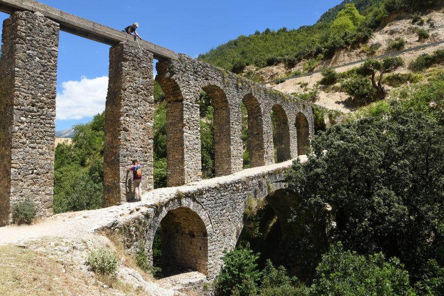 Měření Alipašova akvaduktu.