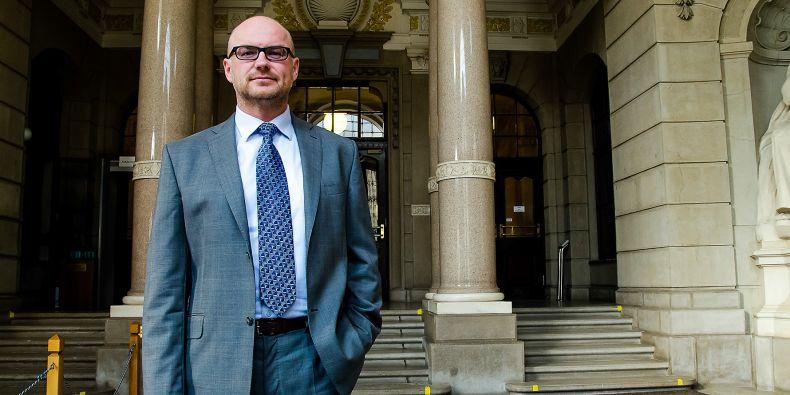 Soudce Tomáš Lichovník.