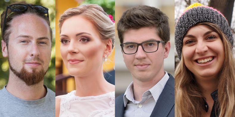 Psycholog Jiří Klíma, speciální pedagožka Jana Urbánková, ekonomický poradce premiéra Jan Bittner a zubařka Dana Tlačbabová.