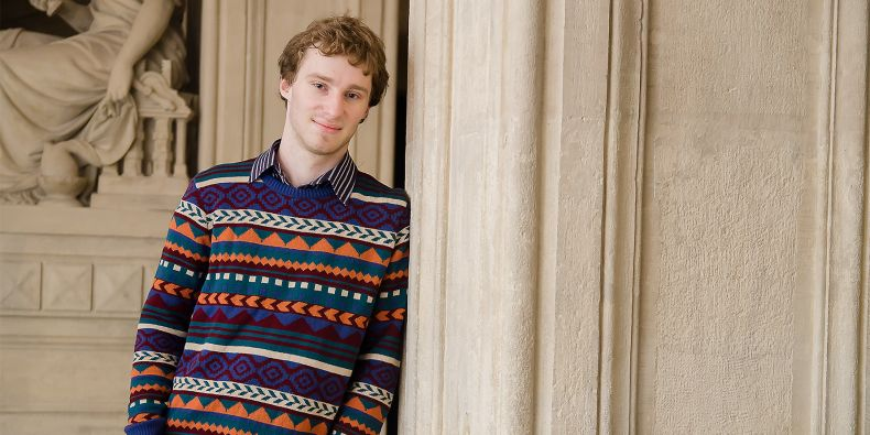 Student informatiky Jozef Marko.