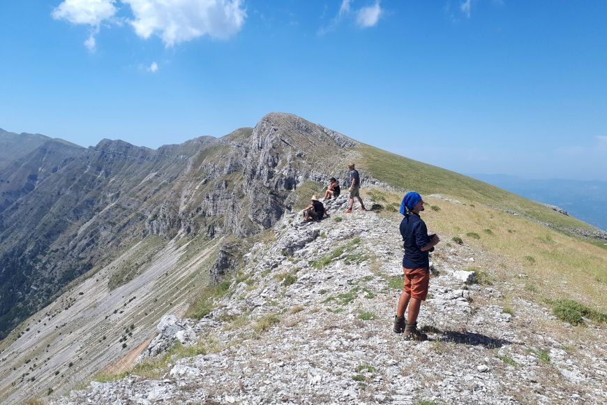Výstup na horu Kendrevica.