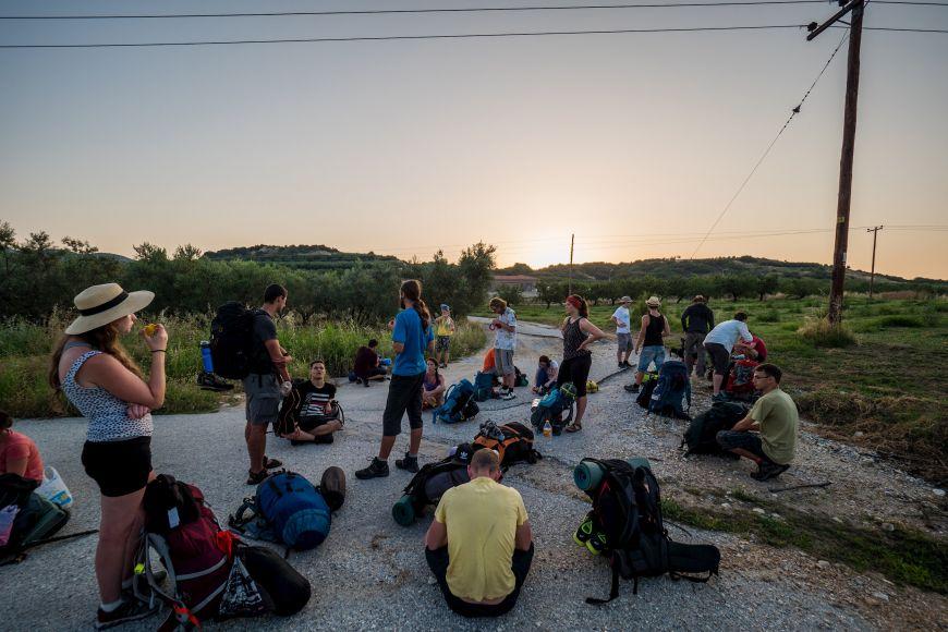 Expedice (2018) na cestě do Kavaly.