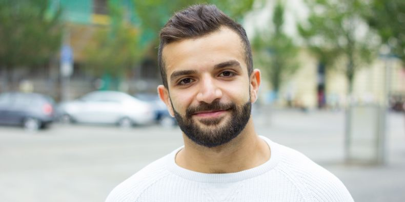 Amir enjoyed his studies at Masaryk University and life in the student city of Brno so much that he wants to stay, even though he is a long way from home.
