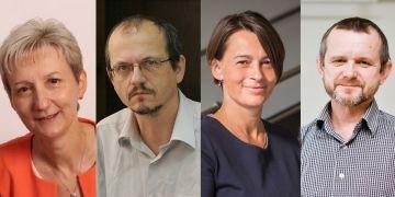 (zleva) Marie Nováková, Josef Krob, Lenka Dobešová a Zdeněk Bochníček odpovídali v anketě.