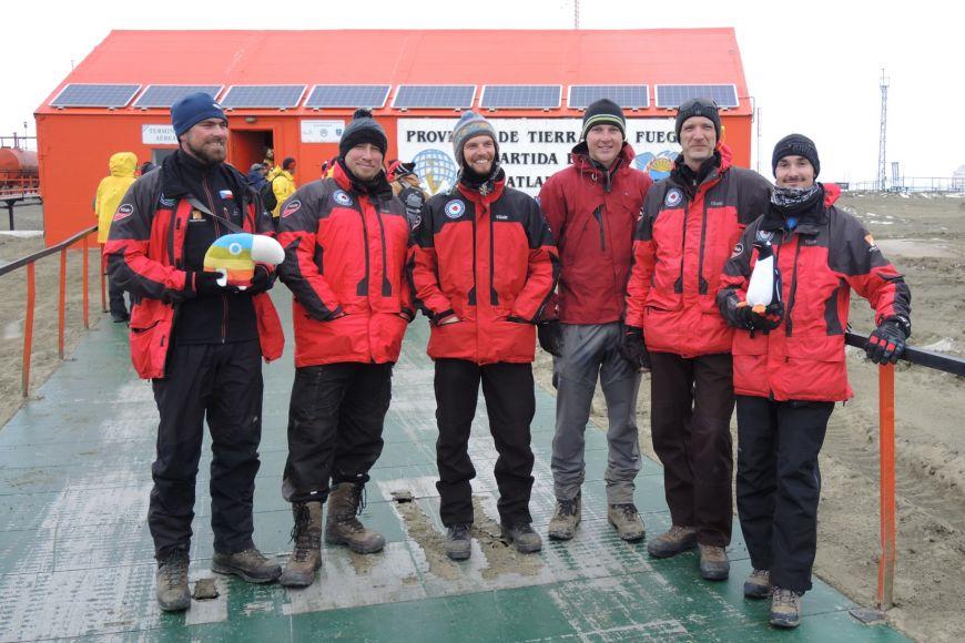 Letošní expedici měl kvůli nejistému financování jen minimální počet členů. Příští rok už by měli vyrazit vplném počtu.