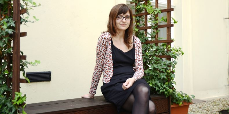 Studentka sociologie Lenka Marečková.