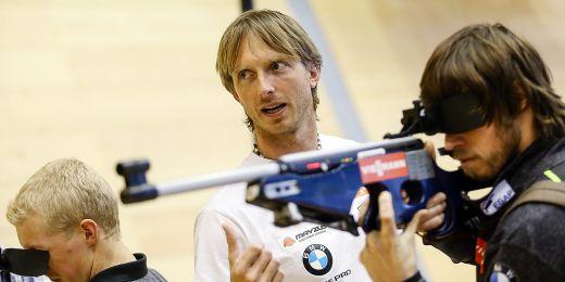 Biatlonový trenér Ondřej Rybář.