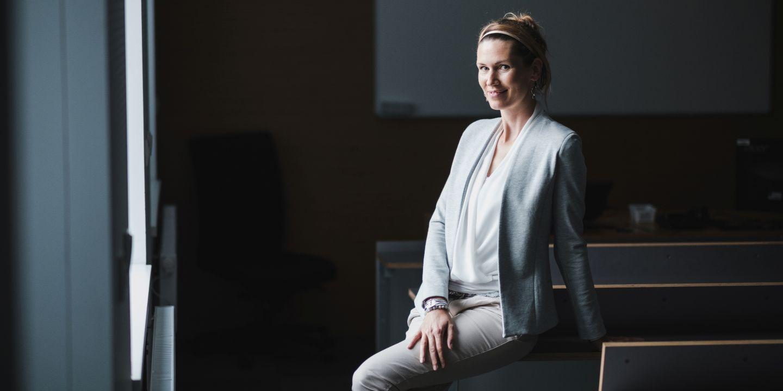 Barbora Bühnová, proděkanka pro průmyslové partnery na Fakultě informatiky MU.