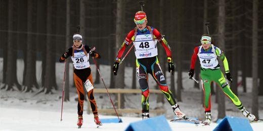 V biatlonu bude Česko mimo jiné reprezentovat studentka Fakulty sportovních studií MU Kristýna Černá.