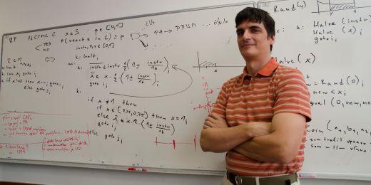 Computer scientist Tomáš Brázdil.
