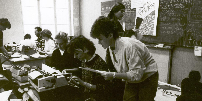 Generace studentů z konce 80. let stála v čele brněnské sametové revoluce.