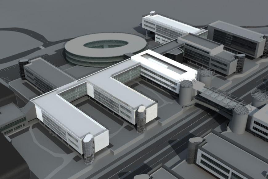 Čtyři nové pavilony vseverní částí kampusu. Kdokončení areálu zbývá už jen otevřít dvě budovy Ceitecu (Středoevropského technologického institutu).