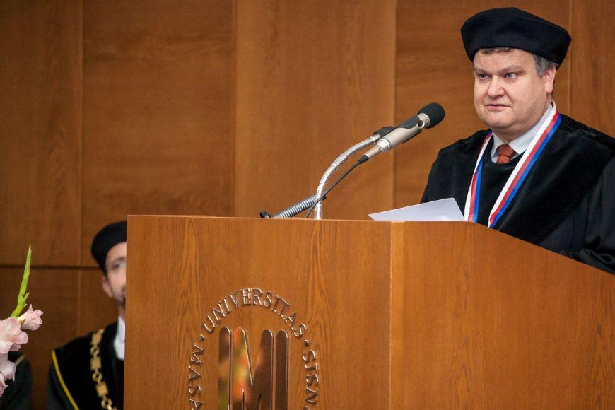 Uznávaný informatik Thomas A. Henzinger - mimo jiné čestný doktor MU.