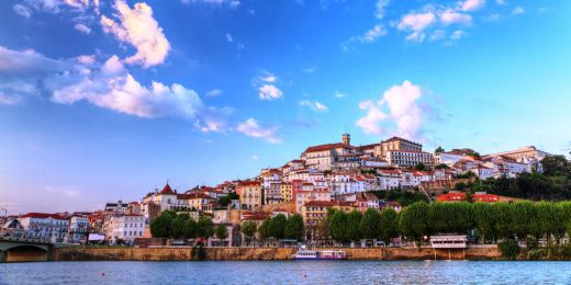 Portugalská Coimbra.