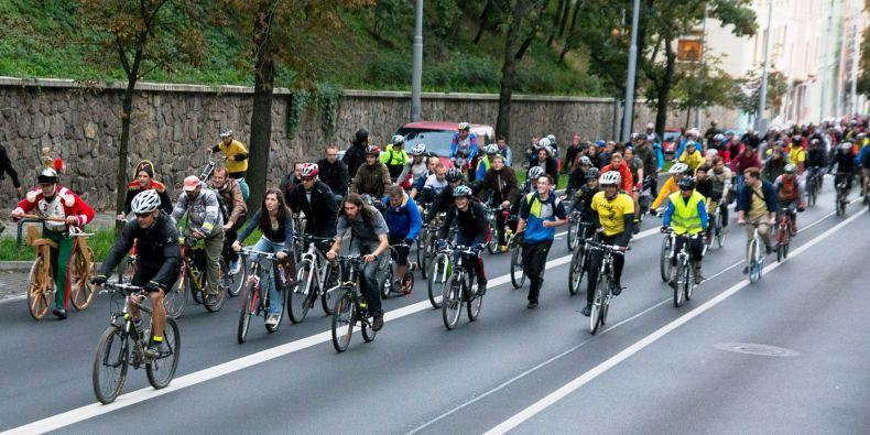 Loňské podzimní jízdy se zúčastnilo tisíc cyklistů.