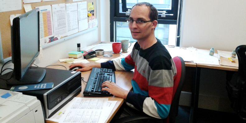 Daniel Kráľ is one of only three Czech researchers to obtain two ERC grants.