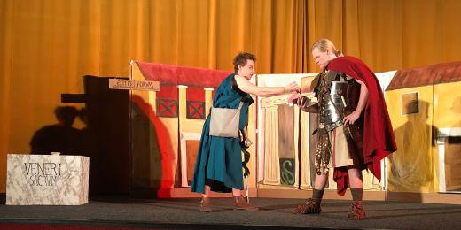 Premiéru představení uvedli studenti vloni v Univerzitním kině Scala.