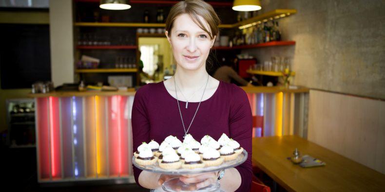 Studentka Kristina Hrubá miluje pečení.