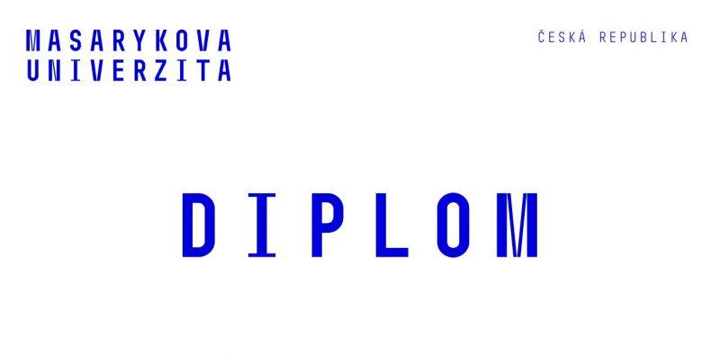 Diplom MU - ilustrační foto