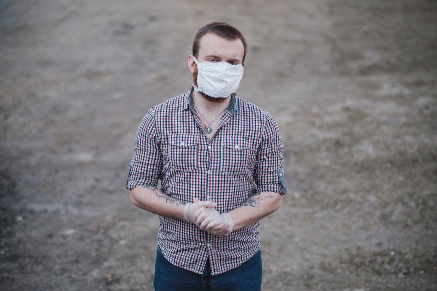 Jakub Šámal je jedním zdobrovolníků zFakulty sociálních studií MU.