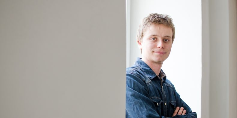 Vladimír Domček would like to go on to become a PhD student in the field.