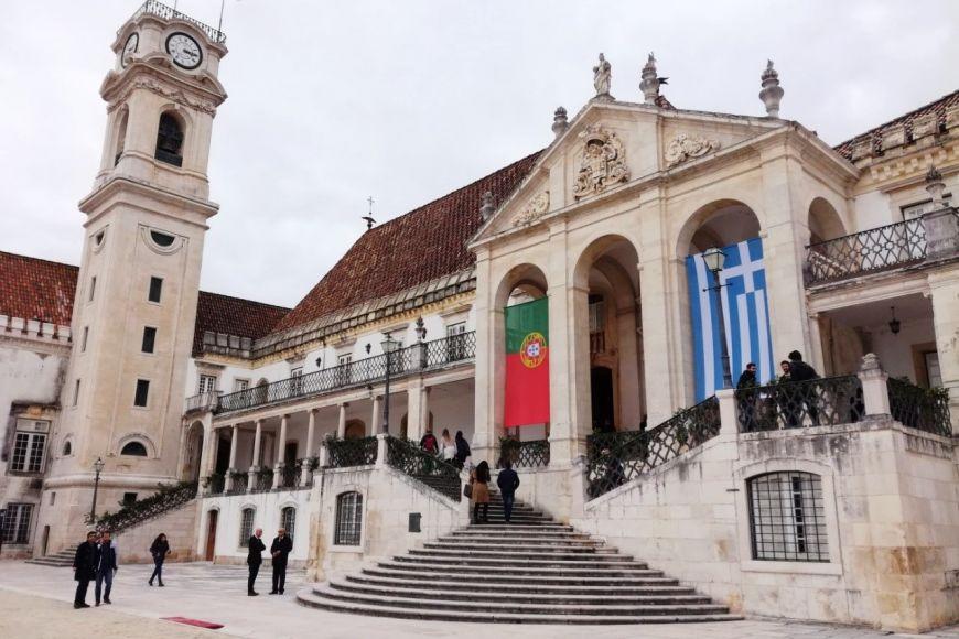 University of Coimbra. Aj napriek tomu, že som nebola Euromachs študentkou, mi dovolili výber predmetov vhodných práve pre tento program.